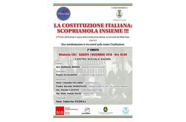 I PARLAMENTARI, CAPUTO, FEDELI E SIANI A VITULAZIO ALLA SCOPERTA DELLA COSTITUZIONE ITALIANA