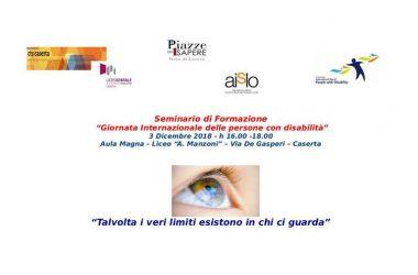 Liceo Manzoni – Cittadinanza e diritti – Giornata mondiale della disabilità