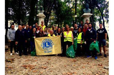 """Il Lions Club """"I Sanniti"""" continua a """"servire"""" il territorio. Giornata ecologica a Piedimonte Matese"""