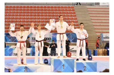 Ancona, il maddalonese Team Renga sale sul podio dei Campionati Italiani 2018 di Taekwondo