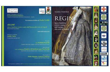 """Invito alla presentazione del libro """"Regine – Spose bambine, eroine e sante dall'Europa alla corte di Napoli"""""""