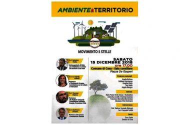 Cesa – Ambiente e territorio, attivisti 5 stelle si riuniscono in sala consiliare a Cesa