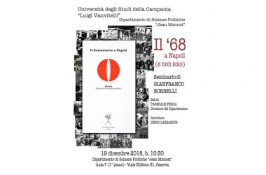 """SEMINARIO SU IL """"68 A NAPOLI"""""""