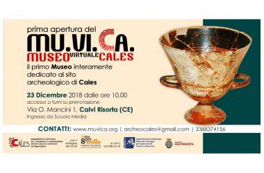 CALVI RISORTA – Grande successo per l'apertura del Muvica, il museo virtuale di Cales!