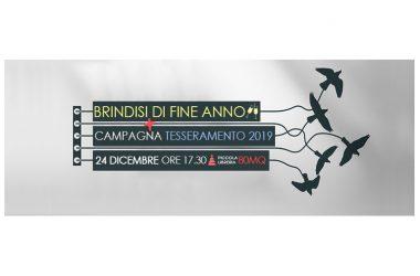 Il tradizionale brindisi di fine anno il 24 dicembre alla Piccola Libreria 80mq