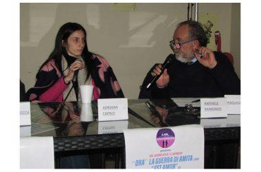 """Presentazione del libro di Adriana Caprio """"ORA"""" LA GUERRA DI AMITA e del CD """"EST AMOR"""""""