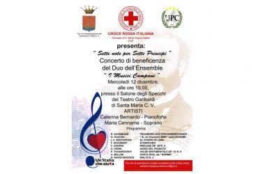 """Santa Maria C.V.    Croce Rossa Italiana, Comitato di Santa Maria C.V.- Curti presenta """"Sette note per sette principi""""."""
