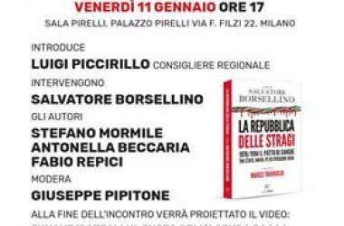 """Presentazione del libro """"La Repubblica delle Stragi"""" a cura di S.Borsellino"""
