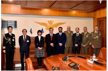 Difesa: Sottosegretario Tofalo incontra delegazione giapponese