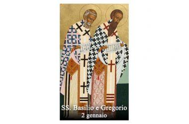 I SANTI di oggi 2 gennaio – Santi Basilio Magno e Gregorio Nazianzeno