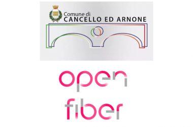 Cancello ed Arnone vola ad 1 gigabit al secondo con la fibra ottica di Open Fiber. In partenza il cablaggio di edifici pubblici, scuole e abitazioni private.