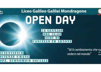 Open day al liceo Galilei di Cancello Arnone