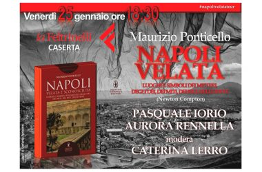 Presentazione del nuovo libro di  MAURIZIO PONTICELLO  NAPOLI VELATA