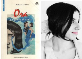 """CANCELLO ED ARNONE: Il 1^ Marzo Adriana Caprio presenta il suo libro """"Ora – La guerra di Amita"""" nonché il suo cd """"Est Amor"""", accompagnata dal violinista Gabriele Luberto."""