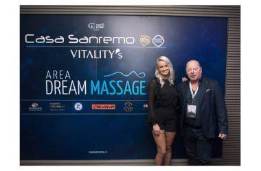 Grande successo per il Dream Massage a Casa Sanremo 2019