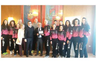 Il Sindaco di Caserta Avv. Carlo Marino ha incontrato le ragazze della Golden Tulip Volalto 2.0