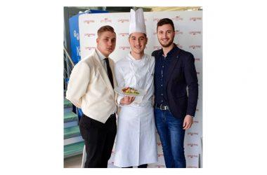 """Trionfo dell' Istituto Alberghiero """"Villaggio dei Ragazzi"""" al Concorso nazionale di cucina."""