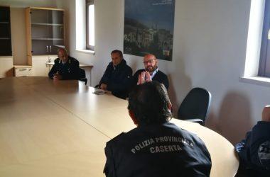 Polizia Provinciale a San Potito Sannitico, firmato protocollo d'intesa tra Parco Regionale del Matese, Provincia e Comune