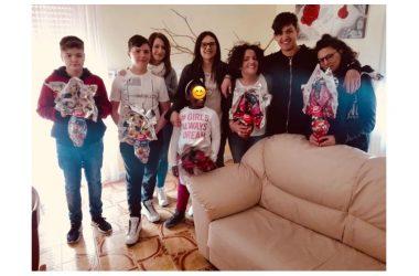 Pasqua con sorpresa, uova per i bambini e ragazzi della Casa Famiglia in Limatola.