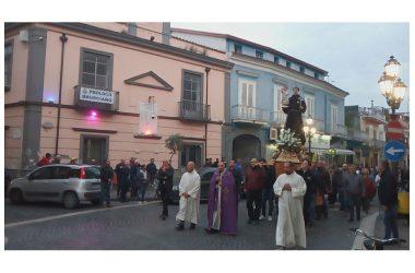 Brusciano peregrinatio Antoniana e Condoglianze a Popolo Sri Lanka