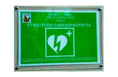 Caserta: la Scuola Specialisti dell'Aeronautica Militare scende in campo per la cardioprotezione dei cittadini