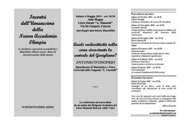 """Caserta – Conferenza dal titolo:  """"Quale radioattività nella zona circostante la centrale del Garigliano?"""