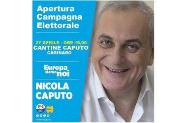 APERTURA CAMPAGNA ELETTORALE EUROPEE 2019