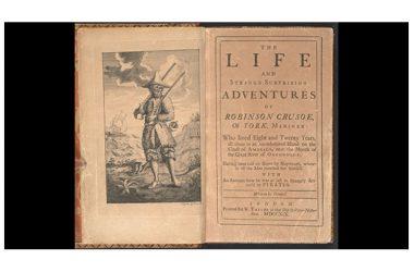 Daniel Defoe e il suo Robinson Crusoe: trecento anni  e (non) li dimostra