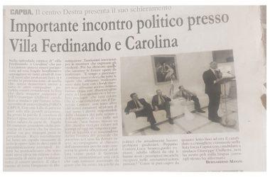 CAPUA :TUTTI I FUTURI SINDACI E  CONSIGLIERI COMUNALI  SI SONO CANDIDATI, A LORO DIRE, PER IL BENE DELLA CITTA'.