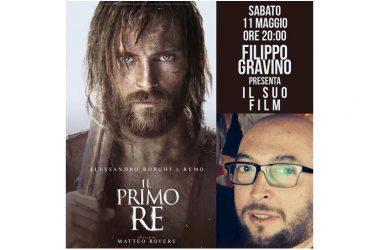 """CAPUA:  INCONTRO CON FILIPPO GRAVINO PER """"IL PRIMO RE"""""""