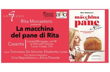 """Presentazione libro """"La macchina del Pane"""" di Rita Monastero, Gribaudo Editore"""