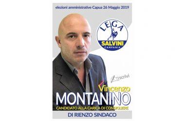 """Angelo Di Rienzo sindaco, Vincenzo Montanino (Lega): """"E' lui il volto nuovo per Capua"""""""