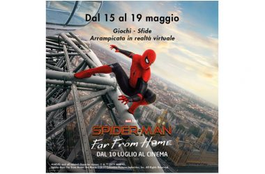 SPIDER-MAN FAR FROM HOME GIOCHI SFIDE ARRAMPICATA IN REALTÁ VIRTUALE