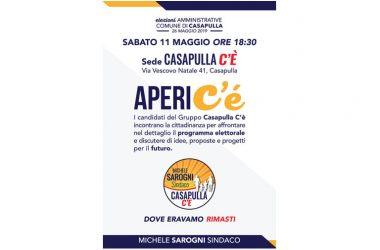 AperiC'è: i candidati di Casapulla C'è incontrano i cittadini per parlare di idee e proposte