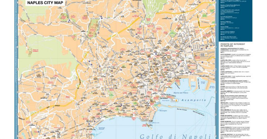 Risultati immagini per Naples City Map Caravaggio Napoli