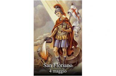 Il SANTO di oggi 4 Maggio San Floriano di Lorch