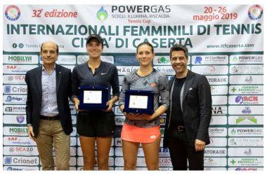 """Tennis Club Caserta  Varvara Gracheva vince la finale degli """"internazionali"""" di Caserta"""
