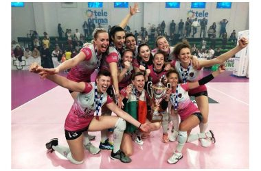 Le rosanero del presidente Nicola Turco sono in Serie A1