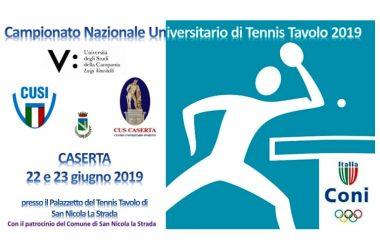 Quaranta finalisti da tutta Italia, tra cui anche componenti del team azzurro TENNISTAVOLO: A SAN NICOLA LA STRADA I CAMPIONATI UNIVERSITARI