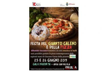Il 25 e 26 Giugno a Calvi Risorta Festa del Guanto Caleno e della Pizza per sostenere il MuViCa