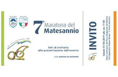 VII MARATONA DEL MATESANNIO – CONFERENZA STAMPA PRESENTAZIONE GRAN FONDO DEL 30 GIUGNO 2019