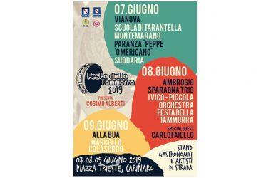 Festa della tammorra a Carinaro: al via la 14esima edizione della rassegna