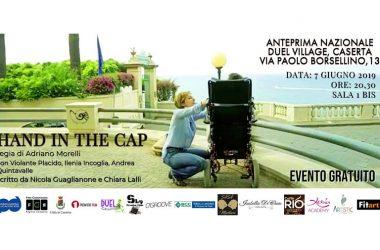 Violante Placido al Duel Village di Caserta  per la presentazione di 'Hand in the Cap'