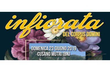 Infiorata Di Cusano Mutri – 25^ Infiorata Del Corpus Domini 2019