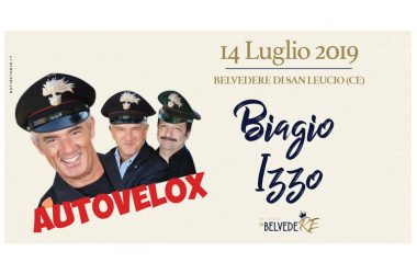 Un'estate da Belvedere: Biagio Izzo in AUTOVELOX