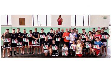 Boxers Improta, stage di pugilato con il campione dei pesi massimi Sergio Romano