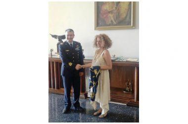 Il nuovo direttore della Reggia di Caserta alla Scuola Specialisti dell'Aeronautica Militare