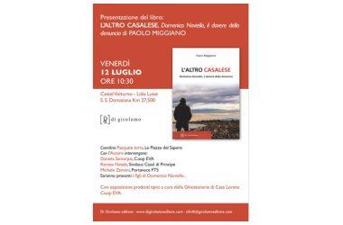 Presentazione del libro. L'altro casalese di Paolo Miggiano, Di Girolamo Ed.