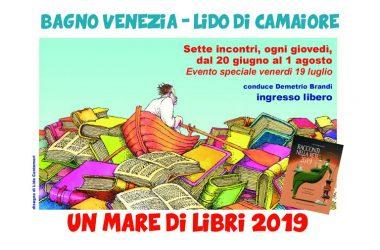 Giov. 11  UN MARE DI LIBRI 2019  Con Silvia Bello Molteni, Cinzia Della Ciana, Andrea Gamannossi, Alexandra Tempesta