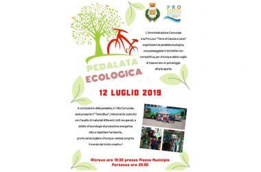 """Cancello ed Arnone: """"Pedalata ecologica"""""""